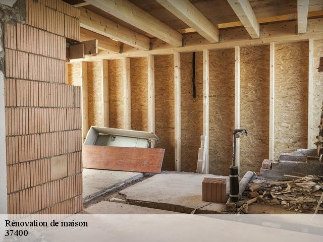 Rénovation de maison  37400